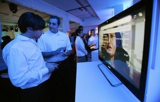 ソニー、ネット対応テレビを米国で発売 「グーグルテレビ」対応