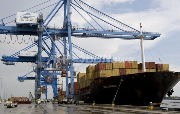 9月の米貿易赤字4.4%減、輸入が過去最大の落ち込み