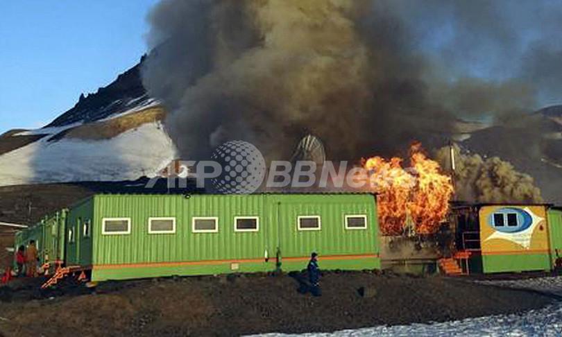 ブラジル南極基地で火災、主要施設ほぼ全焼 2人死亡