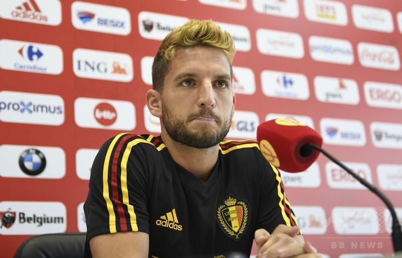 ベルギー代表メルテンス、日本は「強いチーム」 EUROの二の舞警戒