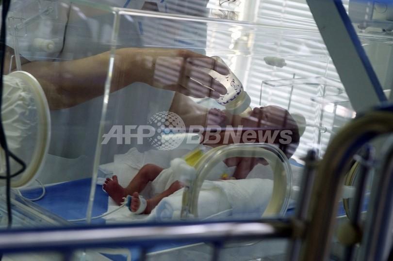 21週5日で誕生の超未熟児が無事退院、最短妊娠期間記録に並ぶ ドイツ