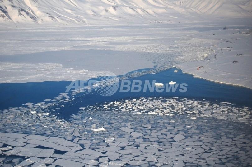 北半球の大雪、原因は北極海の海氷融解か 米中研究