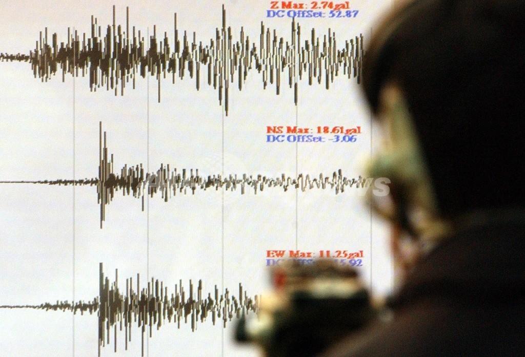 バヌアツ沖でM7.2の地震