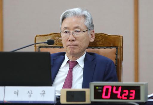 韓国野党の有力議員、与党議員への露骨な侮辱がネット配信される