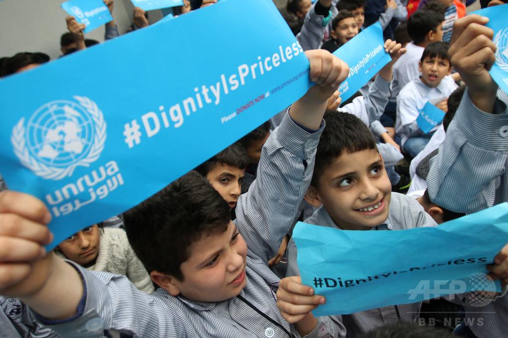 パレスチナ難民の帰還は「非現実的」、社会統合に重きを スイス外相