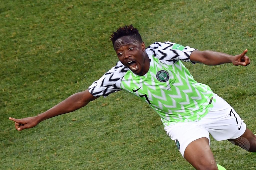 ムサの2得点でナイジェリア初勝利、16強入りに前進