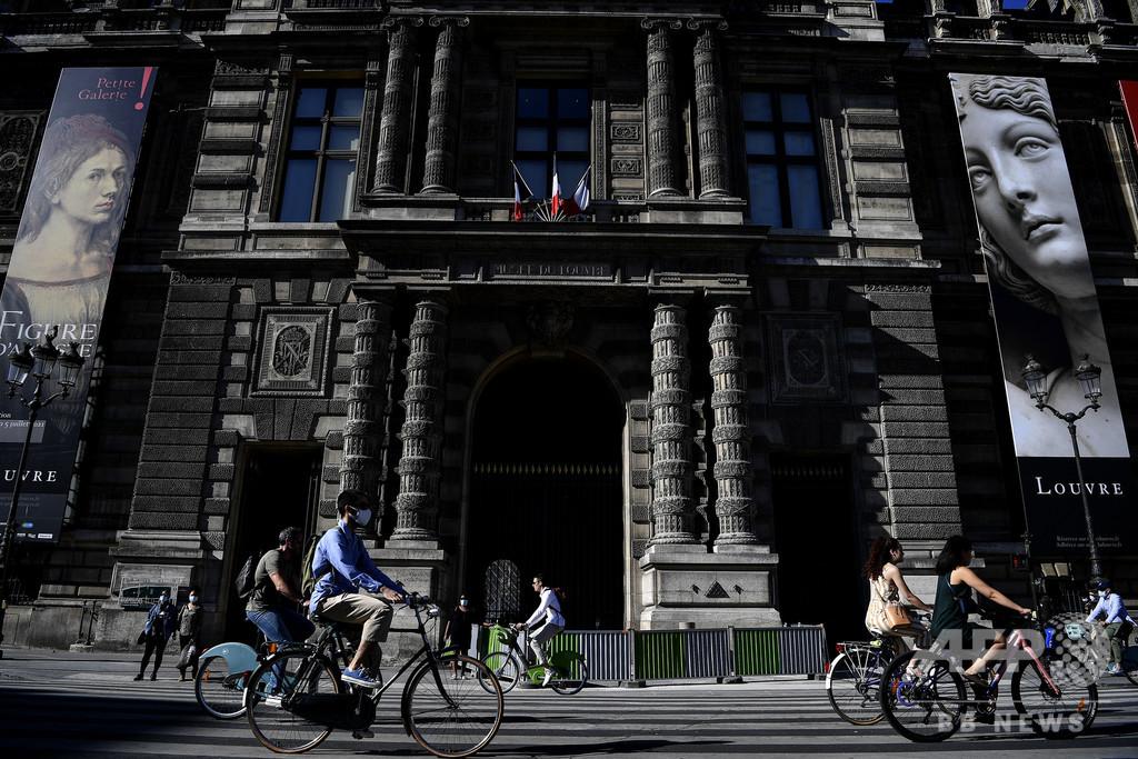 仏、自転車補助金制度を拡充 コロナで公共交通の混雑緩和目指す