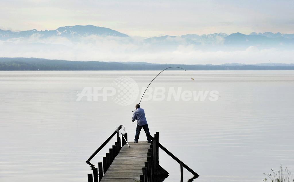 駐ドイツ北朝鮮大使、無許可で釣り 警察が警告
