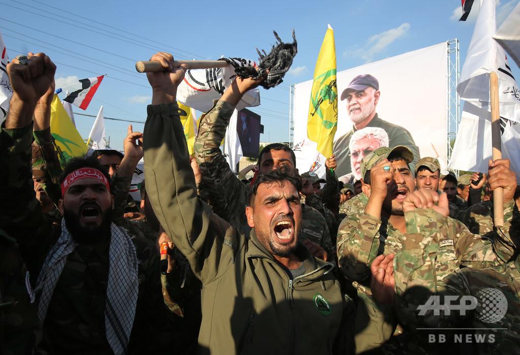 親イラン派13人拘束、米関係先狙ったロケット弾攻撃で イラク