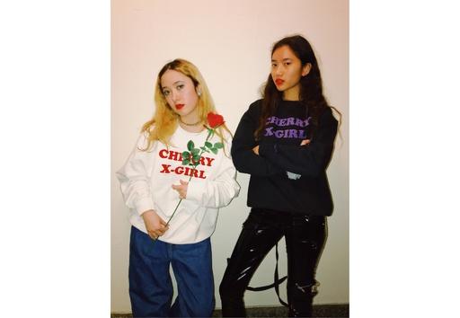 「X-girl」ヴァナ・ヤングスタインとコラボ第2弾発売開始