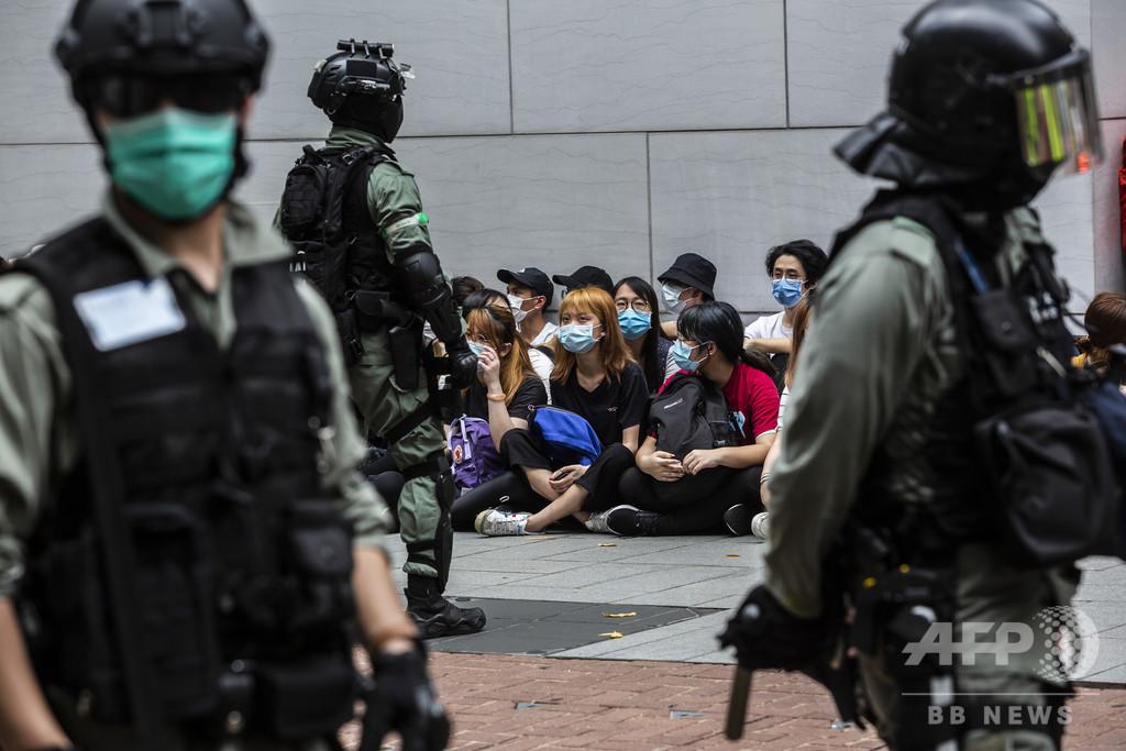 香港への国家安全法導入は国際公約違反、英米など4か国が共同声明