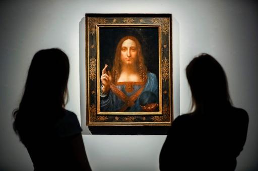 ダビンチ作? 今どこに? 謎呼ぶ500億円の絵画「サルバトール・ムンディ」