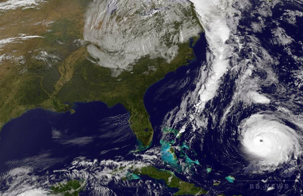 ハリケーン「ゴンサロ」、英領バミューダに上陸