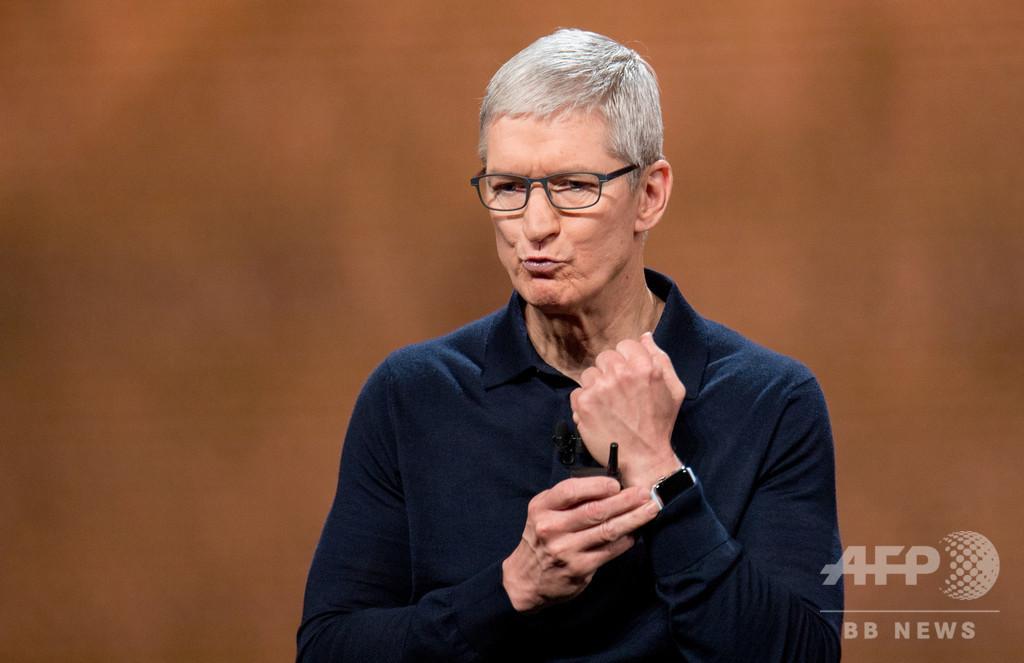米アップルのクックCEO、年収17億円 2年連続で昇給