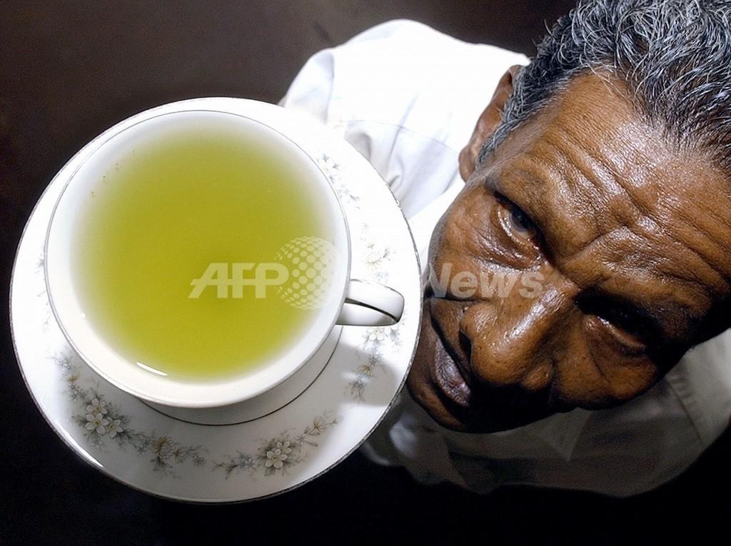 緑茶成分は、性交渉時のHIV感染を抑制する 独研究