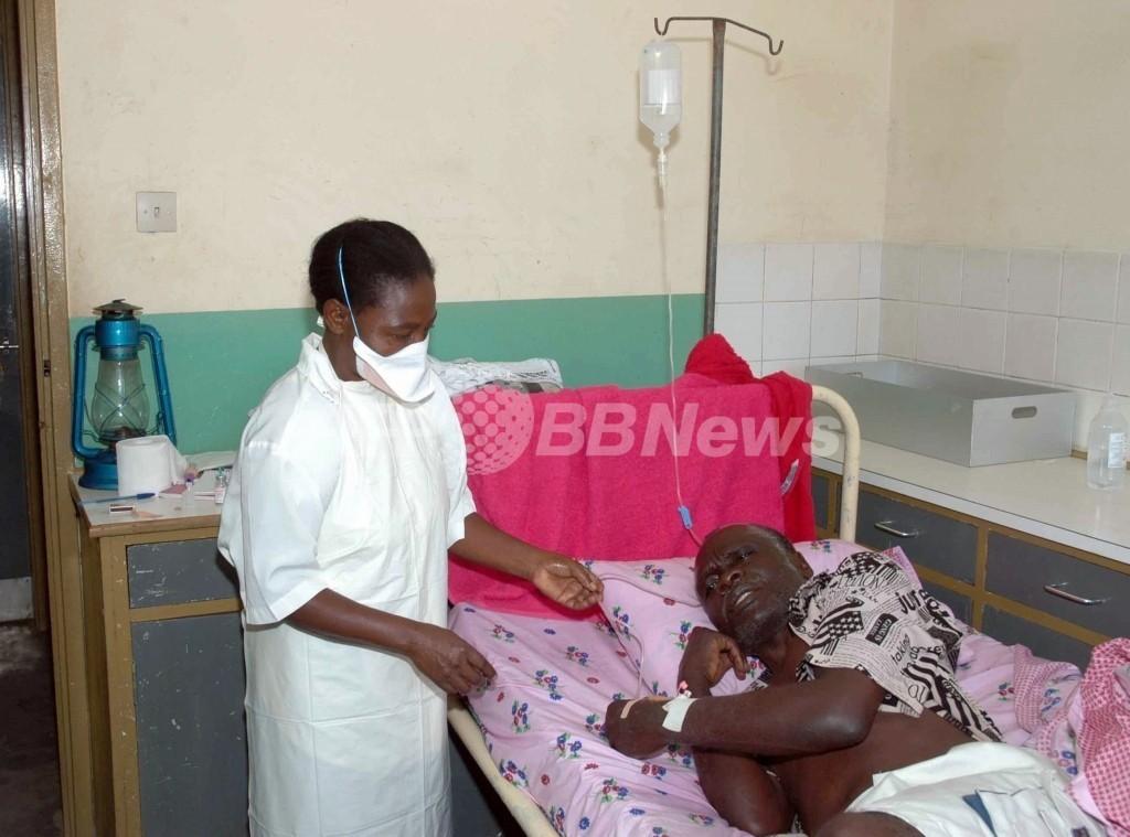 エボラ出血熱で14人死亡、ウガンダ西部
