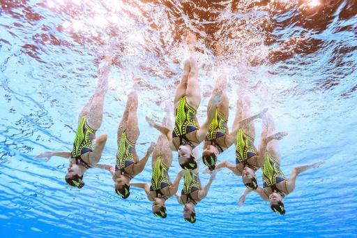 【写真特集】水中カメラがとらえた世界水泳韓国大会