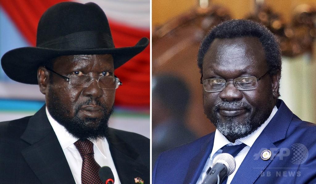 南スーダン大統領と反乱軍、新たな停戦協定に合意