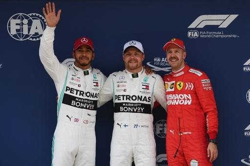 ボッタスPPでメルセデスがフロントロー独占、中国GP