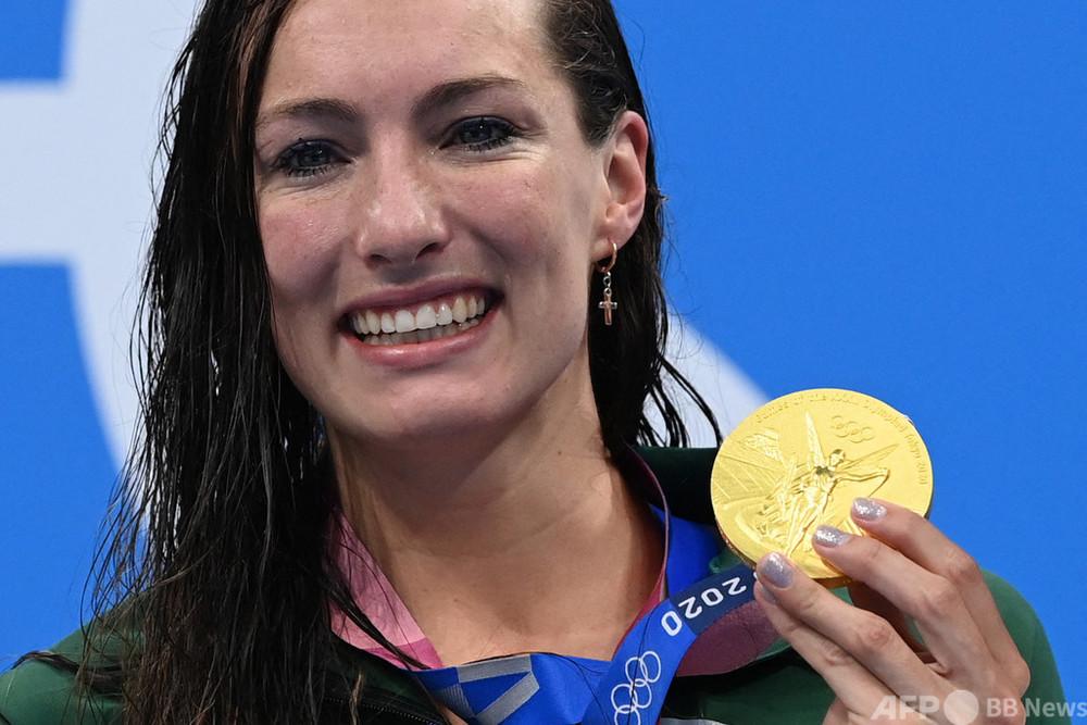 スクンマカーが女子200m平泳ぎ世界新 マキーオンはメダル四つ目