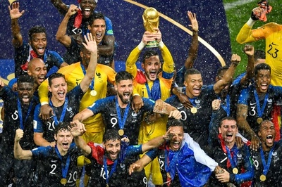 【写真特集】20年ぶりに輝いた栄冠、フランス対クロアチア