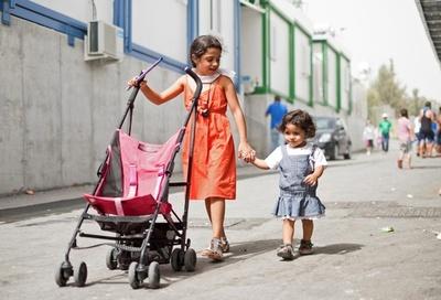 キプロスの難民収容施設で暮らす人たち