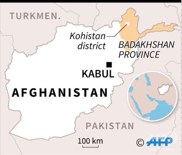 アフガニスタンで金鉱が崩落、30人死亡