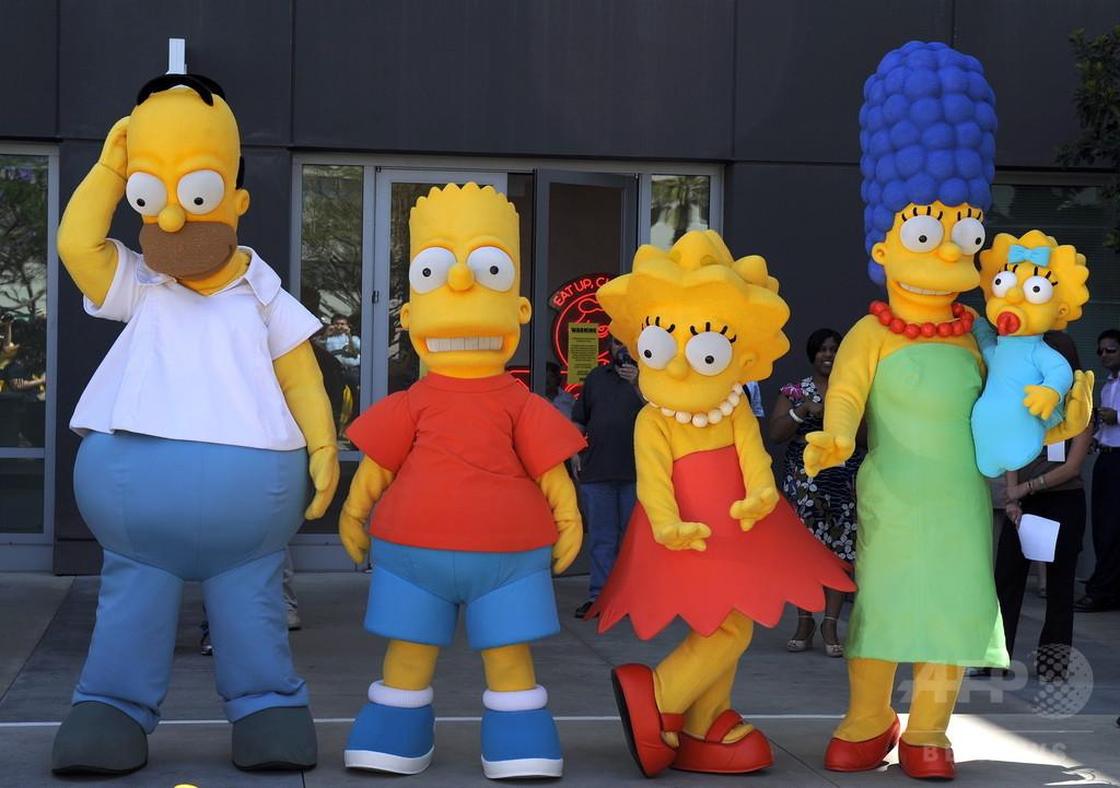 「ザ・シンプソンズ」新シーズンでホーマーとマージが離婚?