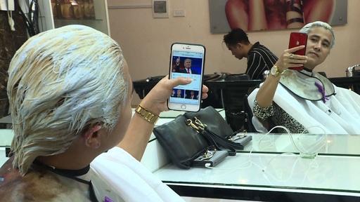 トランプ&正恩カット、米朝首脳会談で無料サービス ベトナム理髪店