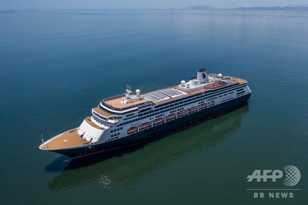 パナマ政府、感染確認のクルーズ船に運河通航を許可