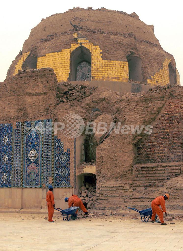 イラク、アスカリ聖廟の再建作業進む