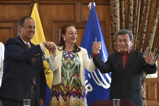 コロンビア、最後の左翼ゲリラも停戦に合意 来月発効