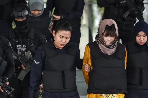 金正男氏殺害、実行犯2人の公判継続 検察の立証十分と認める
