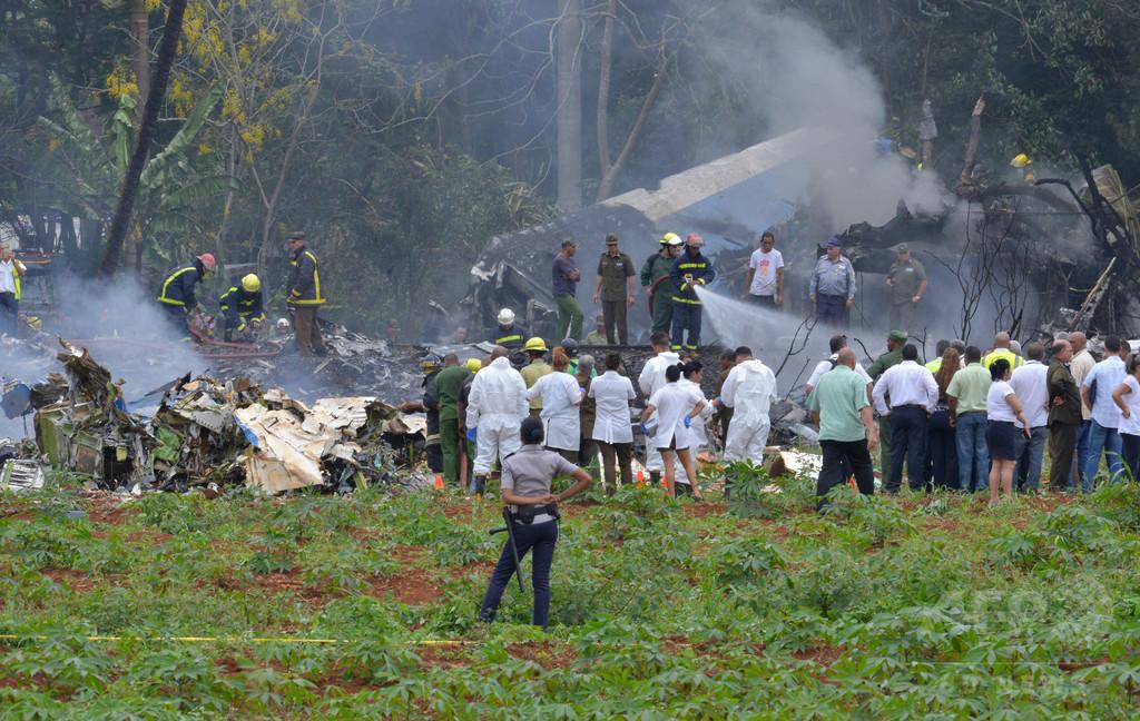 112人死亡のキューバ航空機墜落事故、原因は人為的ミス