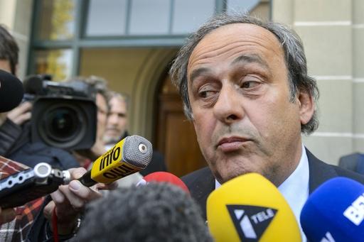 スポーツ仲裁裁判所、プラティニ氏の裁定を5月9日までに判断