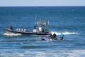 南海の死闘、有力プロサーファーをサメが襲う 南アフリカ