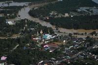 タイ南部の洪水、死者31人に 被災者は110万人