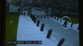 動画:カナダ銃撃事件、容疑者とらえた防犯カメラ映像
