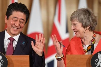 安倍首相、英の合意なき離脱回避に期待 メイ氏の離脱案支持