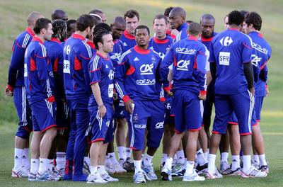 ボイコットで醜態をさらしたフランス―2010年南アフリカ大会