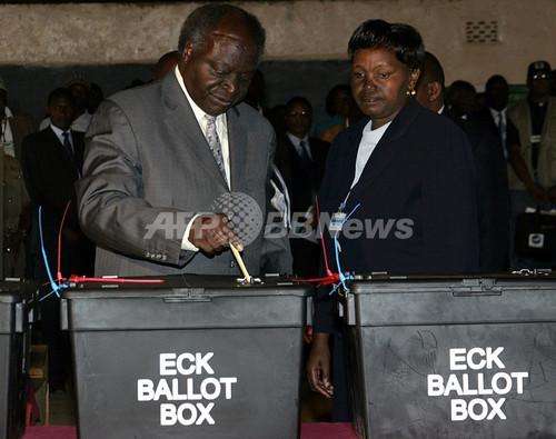 ケニア大統領選、独立以来初の政権交代なるか