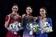 メドベデワが歴代最高得点で連覇、加勢2人が表彰台 世界フィギュア