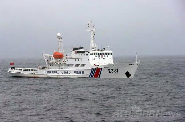 中国公船2隻が領海侵入、尖閣沖