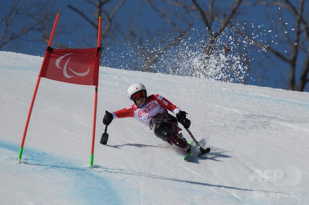 村岡が今大会3個目のメダル獲得、アルペン女子スーパー複合座位で銅
