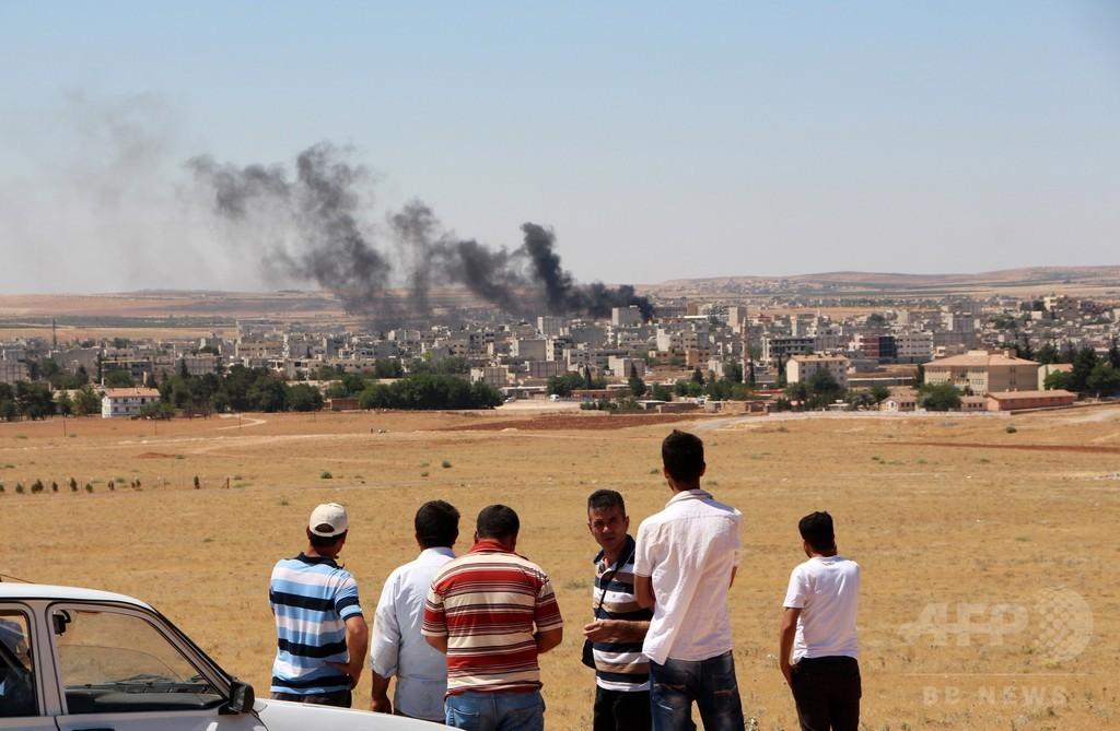 IS、コバニ再侵攻で民間人120人を「虐殺」 シリア