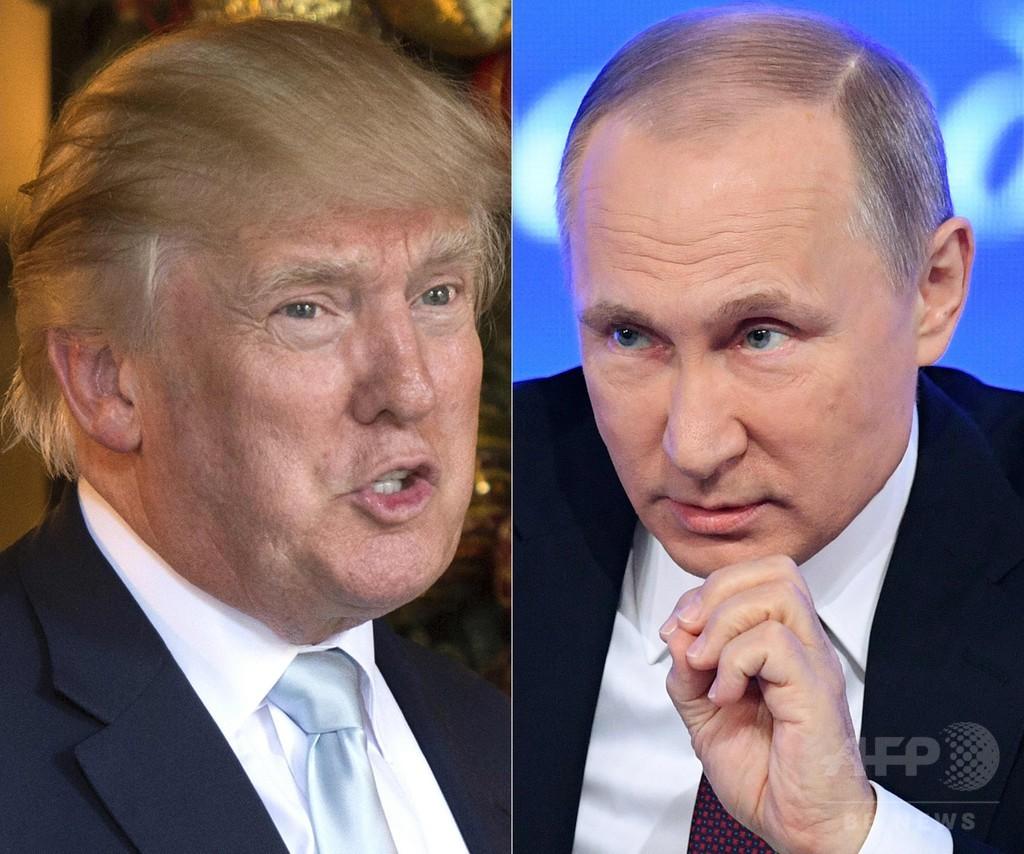 トランプ氏、報復留保のプーチン氏を称賛 「とても賢い」