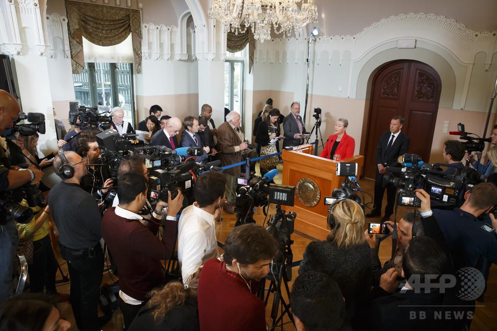 【AFP記者コラム】ノーベル賞取材の神経戦、予想から速報まで