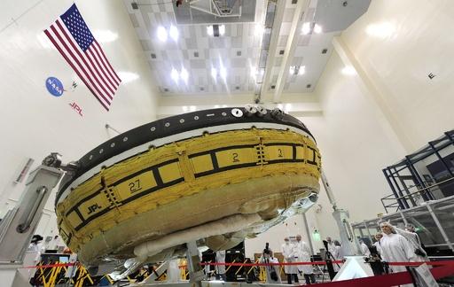「空飛ぶ円盤」で火星表面に物資を、NASAが試作機