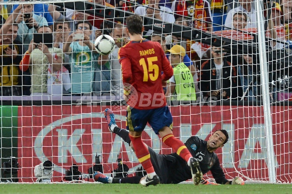 セルヒオ・ラモス「計画通りのPKだった」、サッカー欧州選手権