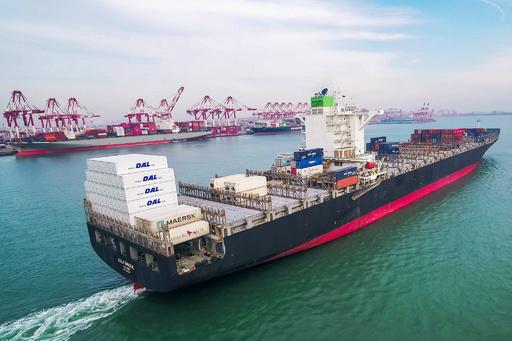 貨物船でCO2漏れ出す事故、10人死亡 中国山東省